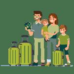 Asistencia en viajes-Familia