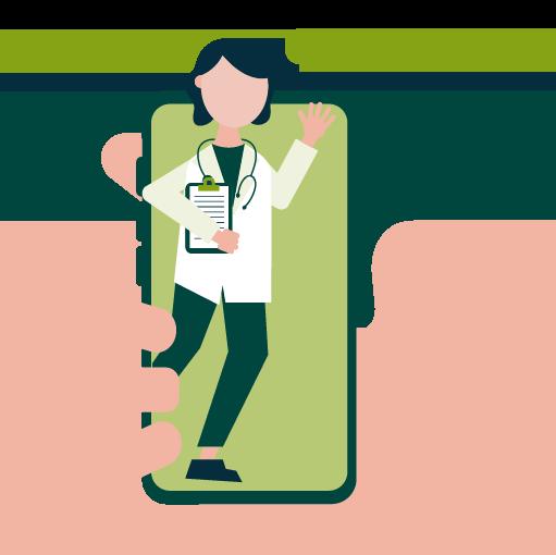 Linea-medica-telefonica